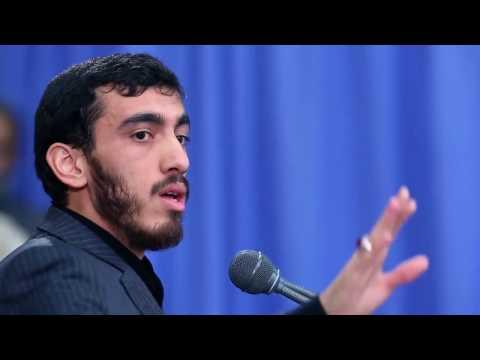 مداحی مهدی رسولی در محضر رهبر انقلاب