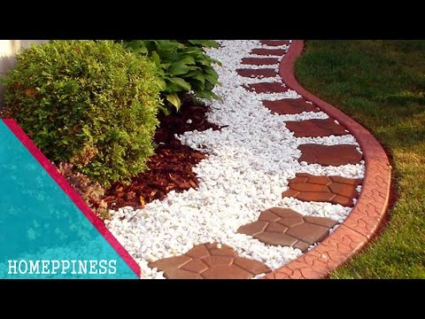 MUST WATCH With These 25+ Stone Garden Edging Ideas, Your Garden Will Look More Impressive