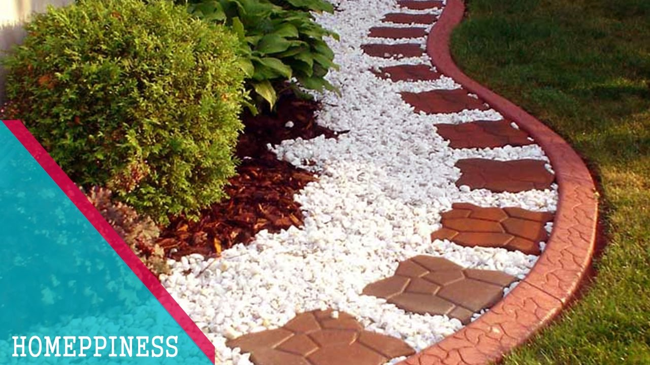 (MUST WATCH) With These 25+ Stone Garden Edging Ideas, Your Garden Will  Look More Impressive