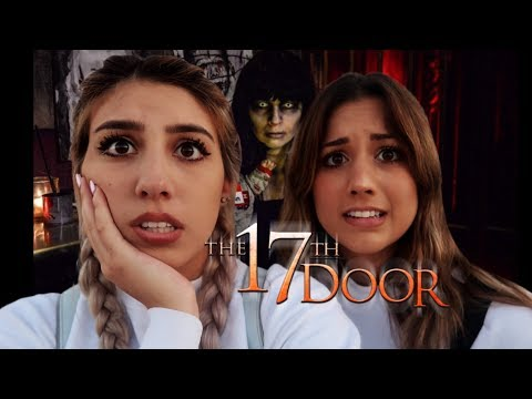 WE HAD TO SIGN A WAIVER TO GO THROUGH THIS INSANE HAUNTED HOUSE (THE 17TH DOOR)