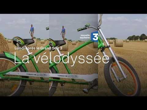 """12 juin 17 sur France 3 : film-documentaire """"La Vélodyssée"""" (bande-annonce)"""