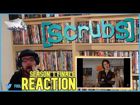 Scrubs 1x24 'My Last Day' Reaction