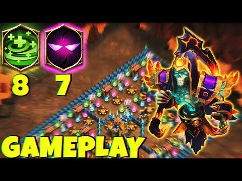 12/12 Grizzly Reaper | 7 Unholy Pact | 8 Regenerate | Gameplay | CASTLE CLASH