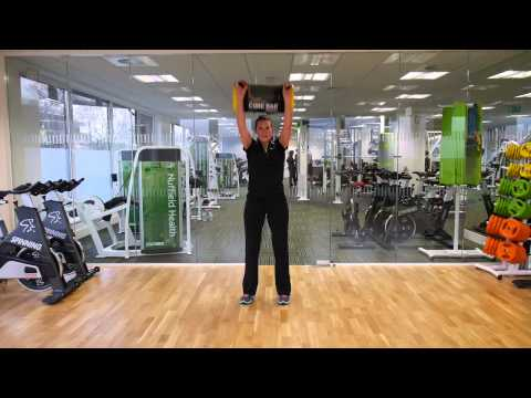 Nuffield Health's Exercise Tip of the Week: How to use a core bag