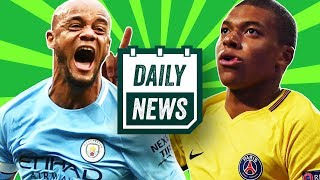 TRANSFER NEWS: Neymar and Mbappé to Man United and Man City + Man City EPL champions! ► Daily News