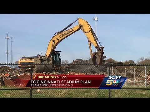 FC Cincinnati: 'We will 100 percent privately finance our own stadium'