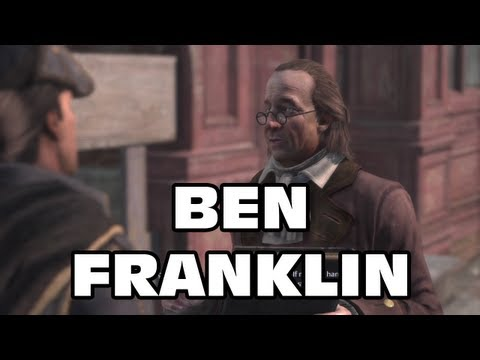 Assassin's Creed 3 - Meeting Ben Franklin