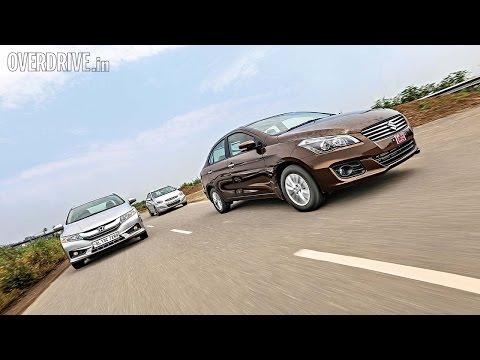 Maruti Suzuki Ciaz vs Honda City vs Hyundai Verna - Comparative Review