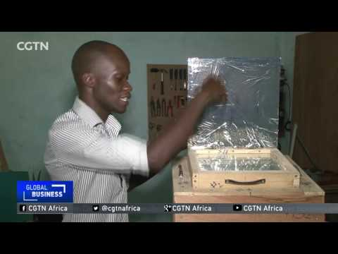 Togo's first solar-powered oven