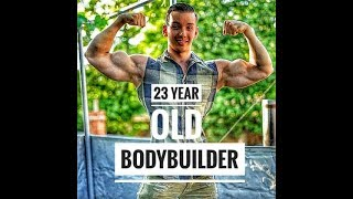 Incredible Body Of 23 Year Old Bodybuilder - Radoslav Raychev - Young Aesthetics