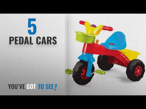 f4bbc9be40e Top 10 Pedal Cars [2018]: My First Ride Trike Kids Childrens Multi-Coloured  Outdoor Pedal Bike with - YouTube