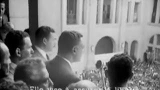 لقطة تاريخية  موكب عمالى ضخم لتسليم جمال عبدالناصر مفتاح قناة السويس