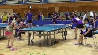 第34回関東オープンベテラン卓球大会 女子50歳未満 決勝戦