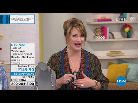 HSN | Designer Gallery with Colleen Lopez Jewelry. http://bit.ly/2YfGq9c