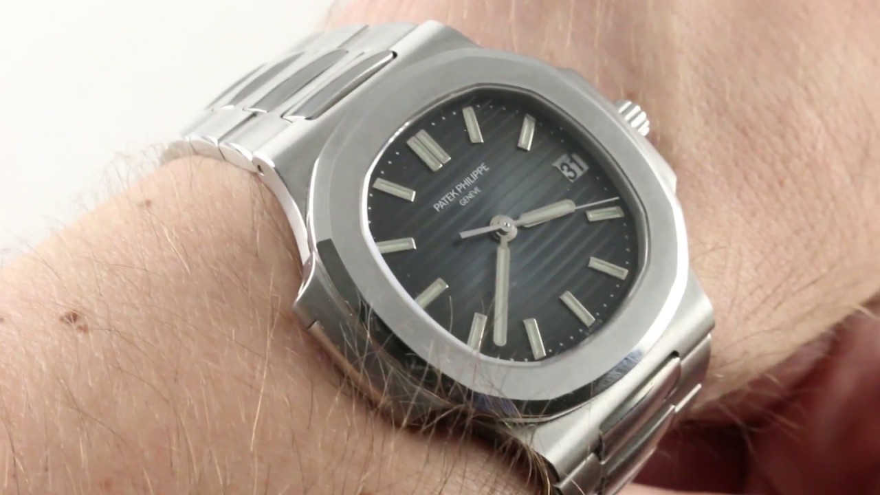 Patek Philippe Nautilus Mid Size 5800 1a 001 Luxury Watch Review