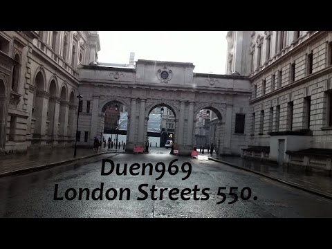 London Streets (550.) - Westminster - Millbank - Victoria - Belgrave Square