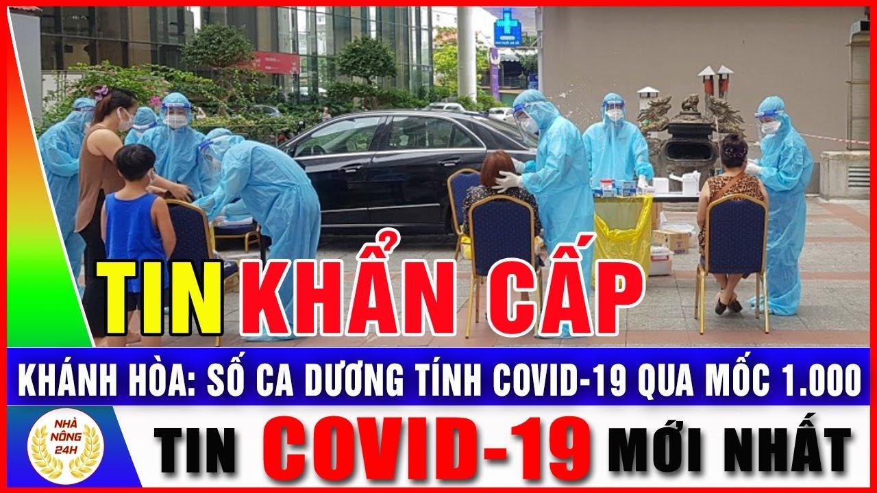 Khánh Hòa Số ca dương tính Covid-19 qua mốc 1.000 | Tin Covid-19 mới nhất hôm nay