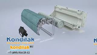 Кондиционер   Daikin FTXB35C / RXB35C  видеообзор
