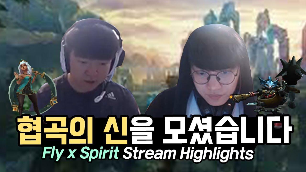 협곡의 신🧙♂️을 모셨습니다 AF Fly X Spirit Stream Highlights