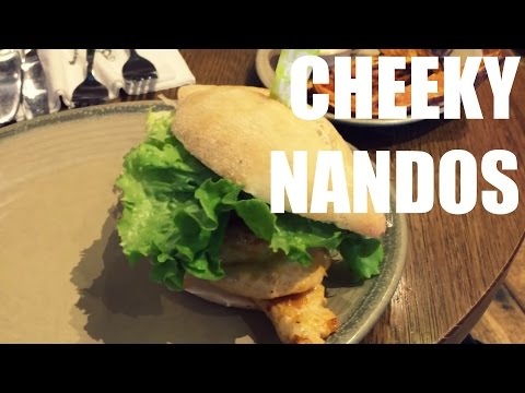Chest and Cheeky Nandos With Danny Ward
