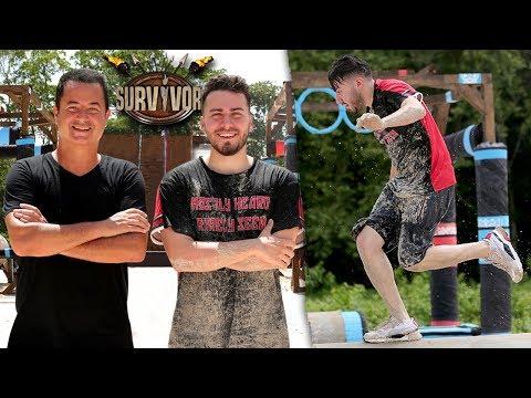 SURVİVOR 'DA YARIŞTIM! (Survivor'da Bir Gün Geçirmek)