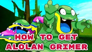 How to get Alolan Grimer in Pokemon Brick Bronze!/Roblox