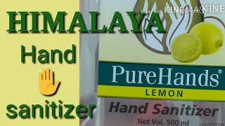 HIMALAYA PURE HANDS LEMON HAND SANITIZER REVIEW | Idea By Chance