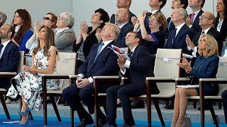 Trump joins Macron as Bastille Day guest of honour