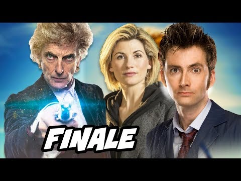Doctor Who Season 10 Christmas Special 2017 Easter Eggs and 13th Doctor Regeneration