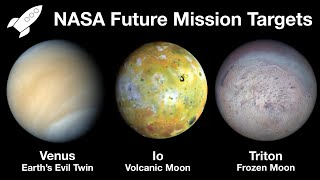 NASA Studies New Missions To Venus, Io or Triton