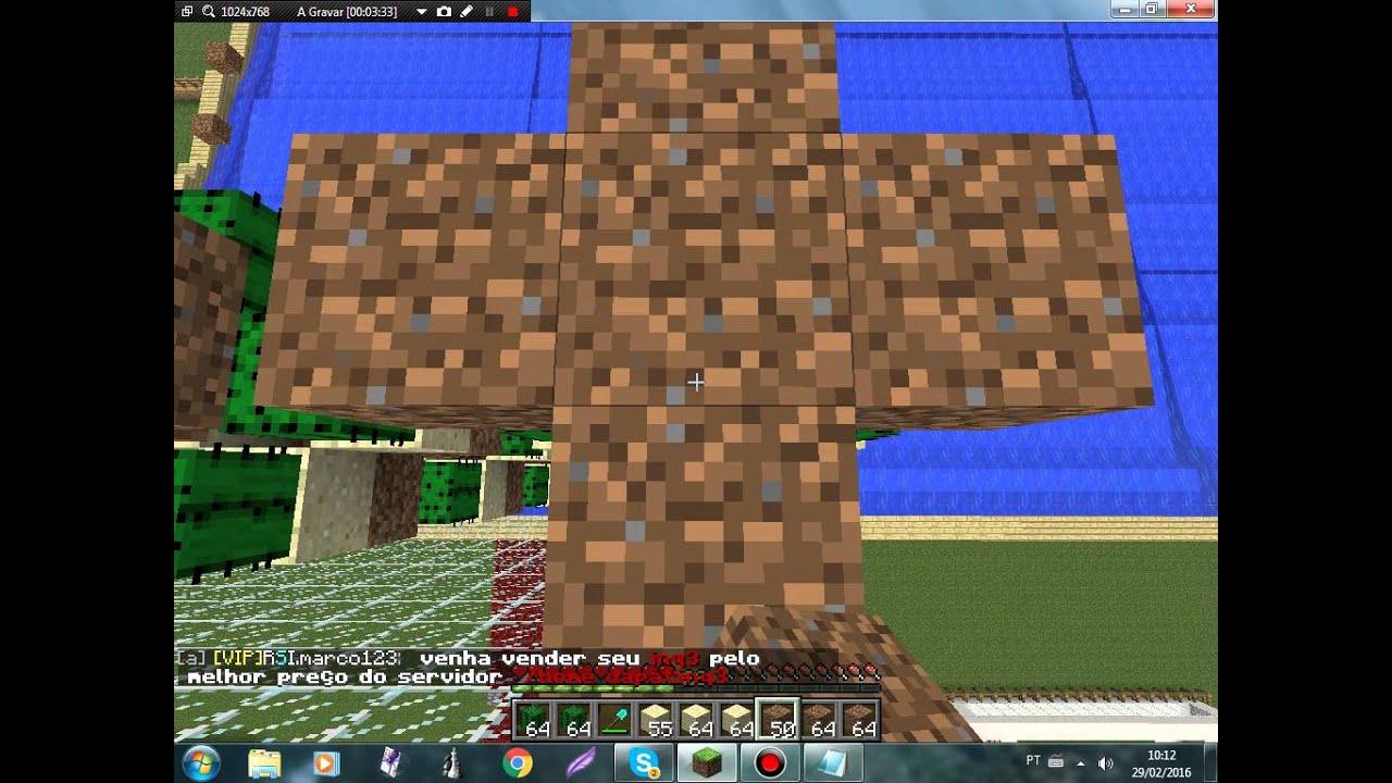 Minecraft : MACRO Torre De Cactos Automática