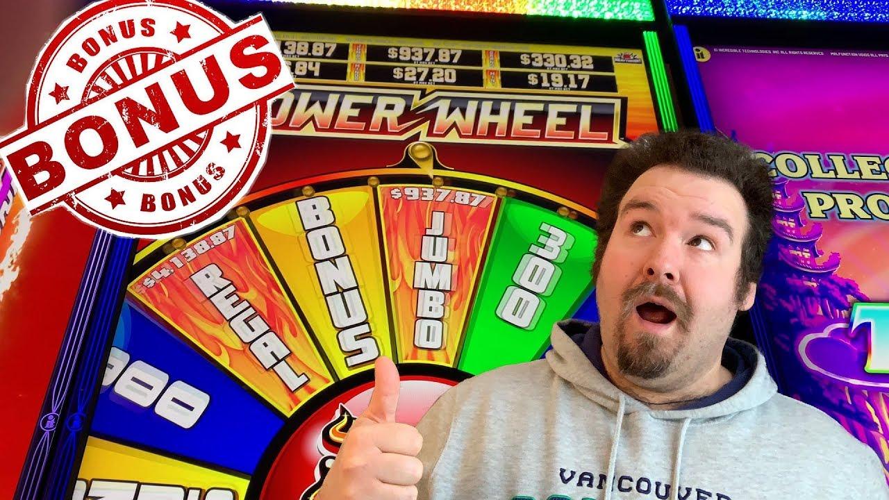 Heat Em Up Power Wheel Slot Machine
