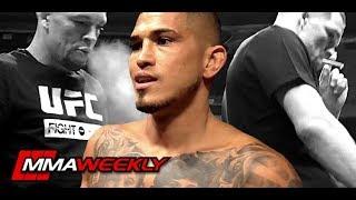 Anthony Pettis Jealous & Worried about Nate Diaz CBD Joint  (UFC 241)