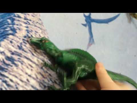 Spino Dude Vs A Stupid Dilophosaurus.