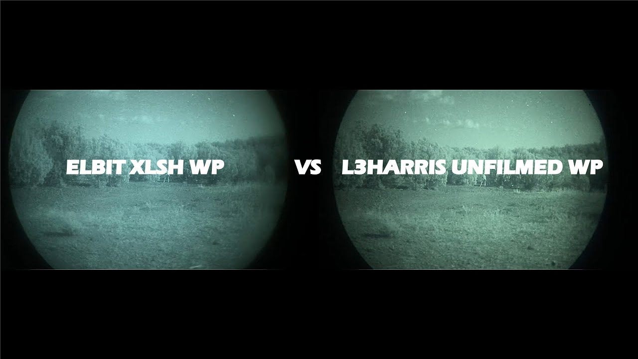 Elbit XLSH Thin Filmed WP vs L3Harris Unfilmed WP