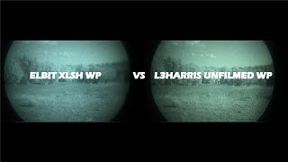 Elbit XLSH and L3 Filmless White Phosphor Comparison