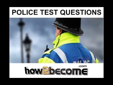 Police Tests - Sample Police Officer Verbal Reasoning Test