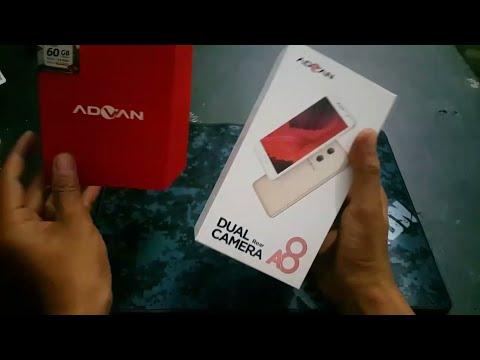 UNBOXING ADVAN A8 # HP MURAH SPEK DEWA
