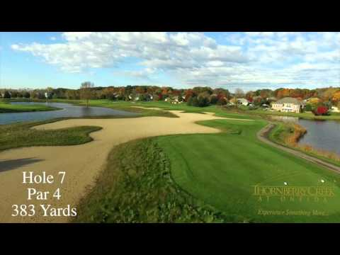 Thornberry Creek Golf Course Flyover