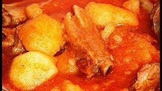 Receta de patatas con costilla de cerdo paso a paso | Recetas caseras de Javier Romero