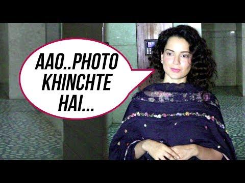 Kangana Ranaut Makes Her Fans Wait For Hours Outside Kamal Jain Offfice