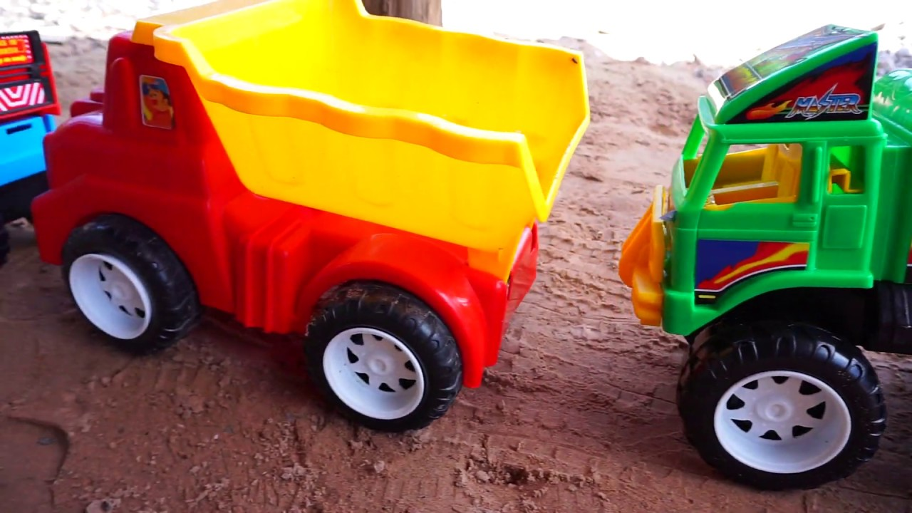 Toy Cars For Kids, Dump Truck Road Roller, Construction Vehicles Toys for Children