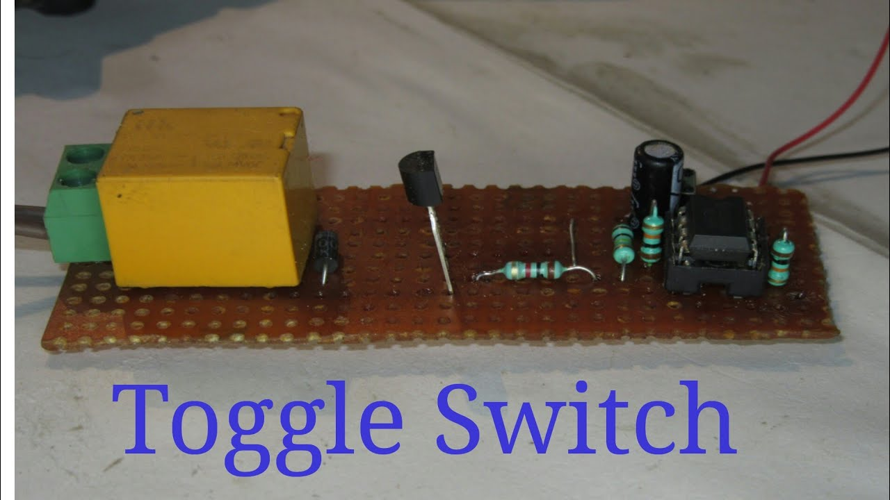 How To Make Toggle Switch Use Ne555 Ic On Off Onoff Wiring Diagram Creative Electronics