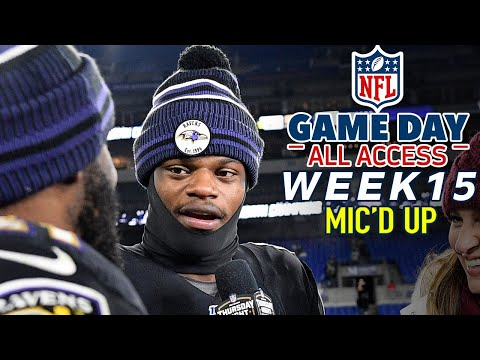 NFL Week 15 Mic'd Up,
