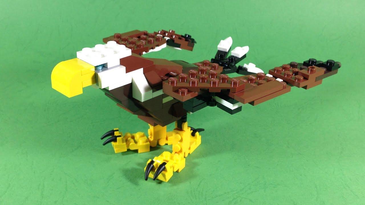 Lego Creator Fierce Flyer Eagle 31004 Youtube