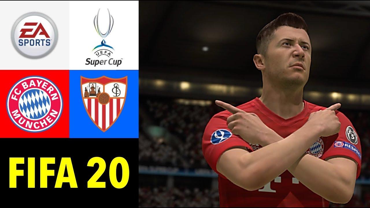 FIFA 20: FC Bayern München vs. FC Sevilla I UEFA SUPERCUP Finale - Prognose 2020 Deutsch [NULL HD]