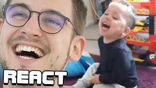 React: CONTAGIOUS LAUGHTER COMPILATION