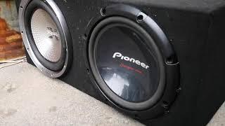 sony xs-gtr121l vs pioneer ts-w309