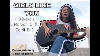 Hey guys this is my cover of Girls like u ( Maroon5 ft Cardi B ) i ...