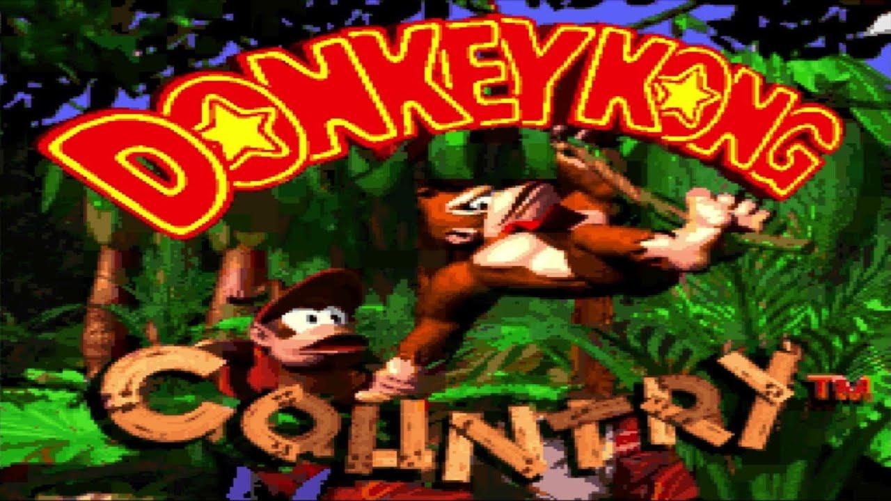 Donkey Kong Country [1] - Rare's Big Golden Banana